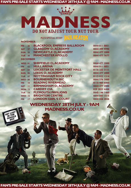 Madness Band Tour