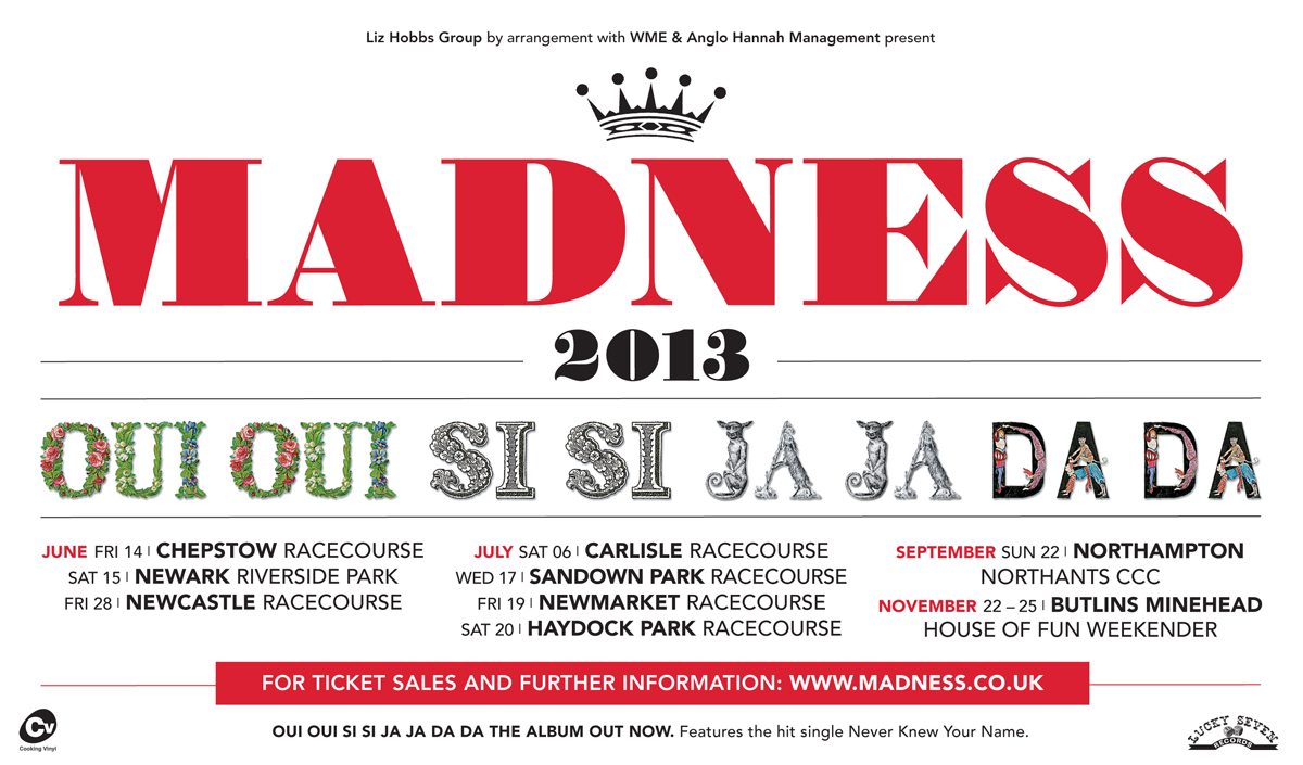 Madness Summer Tour 2013