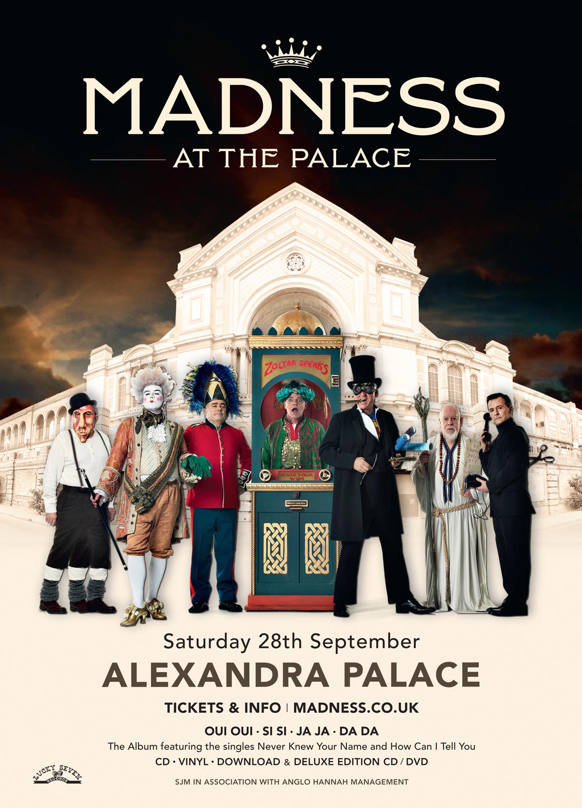 Madness at Alexandra Palace 2013