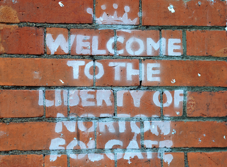 Inlay 1 for The Liberty of Norton Folgate
