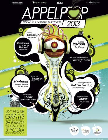 Gigs Image 1 for Appelpop Festival, Tiel, The Netherlands