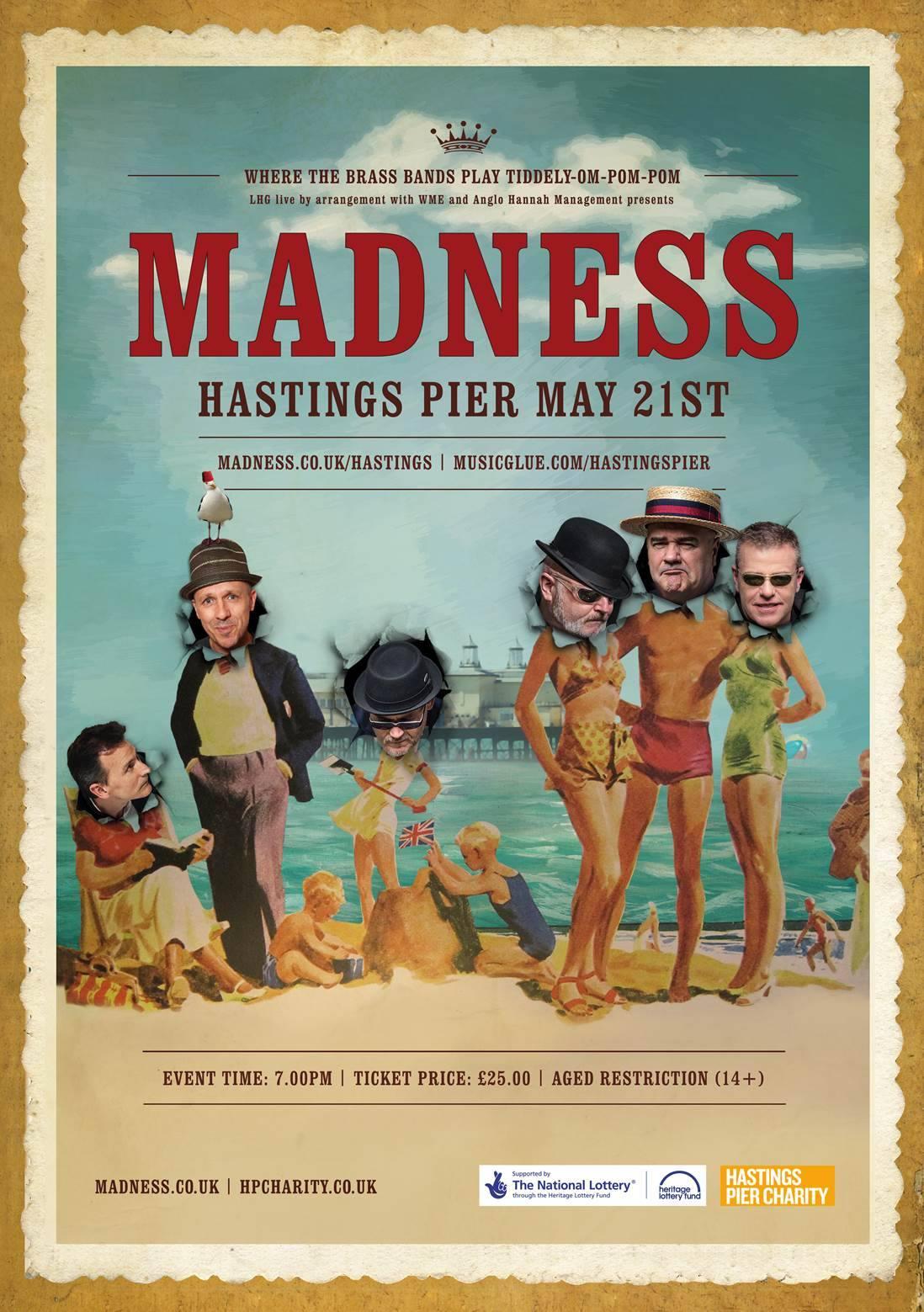 Madness Tour Falkirk