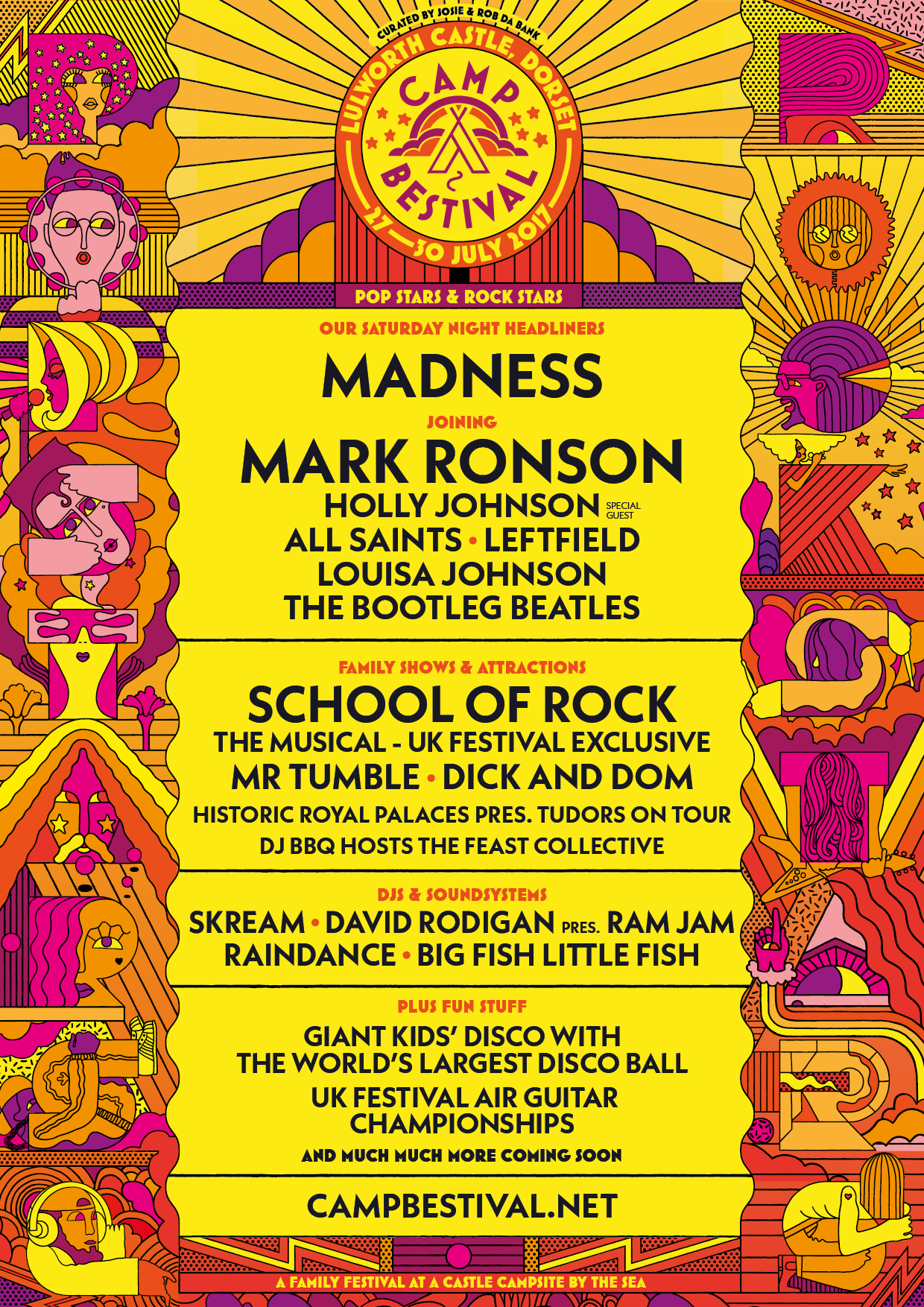 Gigs Image 1 for Camp Bestival, Dorset, UK