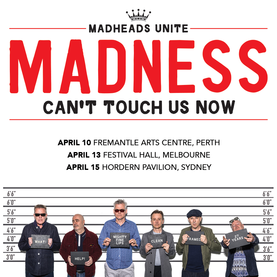 Gigs Image 1 for Perth – Can't Touch Us Now