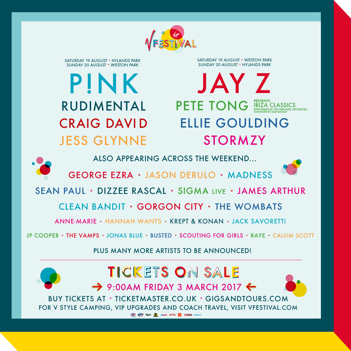 Gigs Image 1 for V Festival, Staffordshire, UK