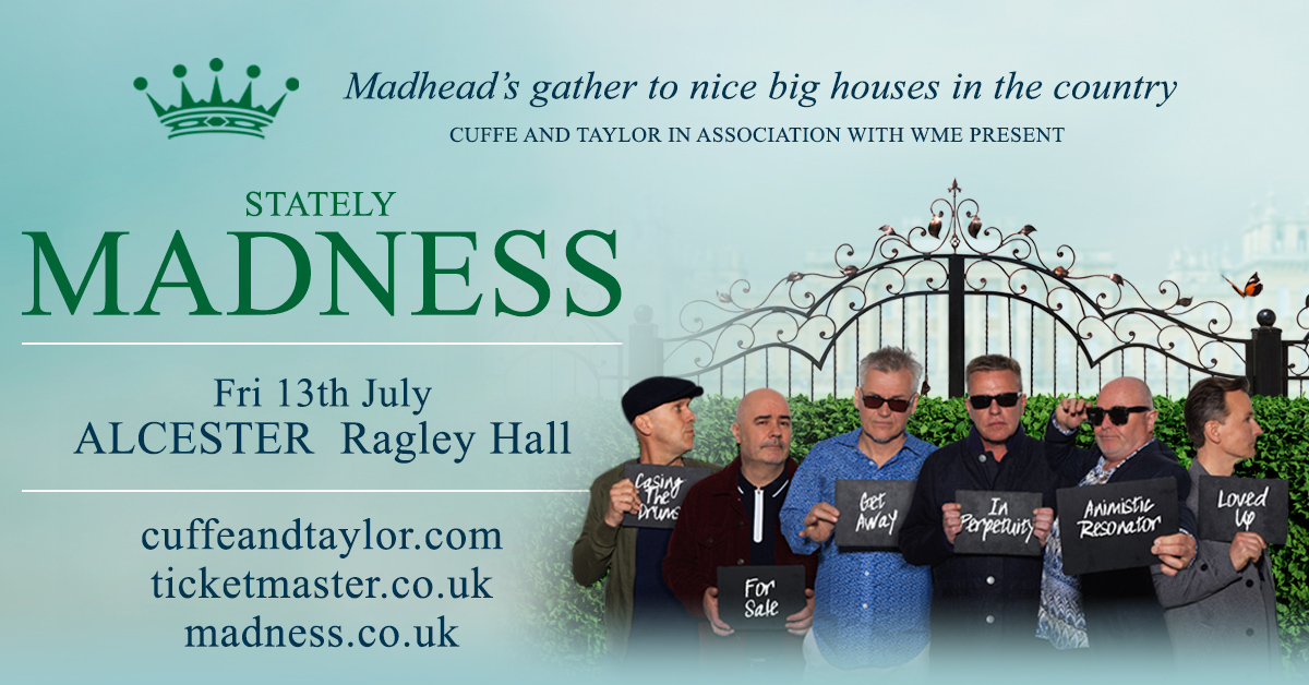 Gigs Image 1 for Ragley Hall, Alcester, UK